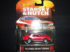 Hot Wheels Ford Gran Torino 1976 Starsky and Hutch BDT77-996K 1/64