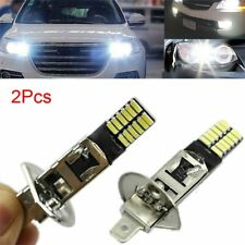 2x H1 6500K 24-SMD 4014 LED Car Replacement Bulb For Fog Light Driving DRL Lamp