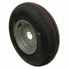 """Trailer Wheel and Tyre 5.00 x 10"""" 4ply 4""""pcd TRSP11"""