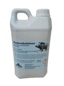 (5,99/kg) 5 kg Kiefernholzteer Holzteer Frankreich Lockmittel Kieferle 010.036