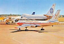 et TUPOLEV 23-BOEING 747 Jumbo-Jet  Airplane Postcard