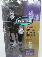 1993-94 UPPER DECK PARKHURST SERIES 2 HOCKEY HOBBY SEALED BOX