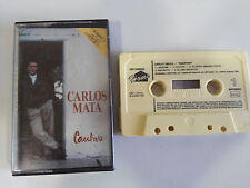 CARLOS MATA CRISTAL CAUTIVO CINTA TAPE CASSETTE 1990 HOME SPAIN EDITION