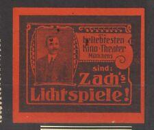 German Poster Stamp Cinema