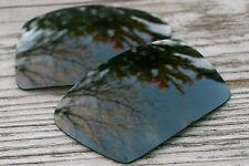 Black Polarized Replacement Sunglass Lenses for Oakley Eyepatch 2 Dark Grey Tint