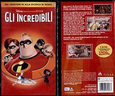 GLI INCREDIBILI (DISNEY) - VHS NUOVA E SIGILLATA, PRIMA EDIZIONE