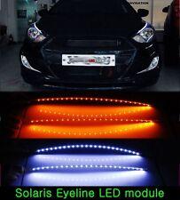 [Kspeed] (Fits: Hyundai 2011-2013 Accent Solaris) exLED 2Color Eyeline (pair)
