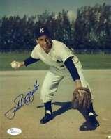 Phil Rizzuto Jsa Coa Autograph 8x10 Photo  Hand Signed Authentic