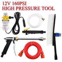 High Pressure Car Washer Tool Kit Cleaner Water Wash Pump Sprayer DC 12V 160PSI