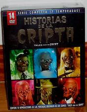 HISTORIAS DE LA CRIPTA SERIE COMPLETA PACK 14 DVD+10 POSTALES NUEVO (SIN ABRIR)