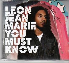 (EX309) Lean Jean Marie, You Must Know - 2008 DJ CD