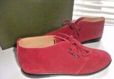 New Longchamp Paris ~ Art to Wear ~ Carmine Lace Up Ankle Boot Flat ~ 38