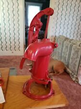 Vintage Left or Right  Handed Cast Iron Short Shallow Well Pitcher Pump