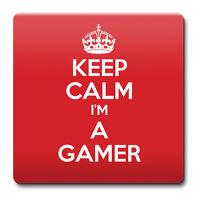 KEEP CALM I'm a Gamer Coaster - Coffee Cup Gift Idea present
