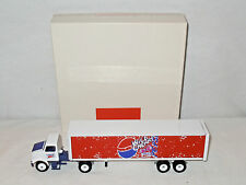 Wild Cherry/Diet Pepsi Semi With Van Trailer By Winross 1/64th Scale