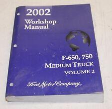 Ford F650 F750 2002 Workshop Manual Volume 2