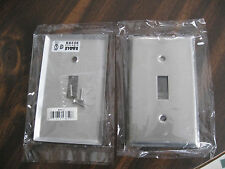 93071 Wall Plate, Stainless Steel. One Gang Toggle. Lot of 48