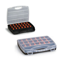 Plastic Storage Box Compartment Organisers, Fishing Tackle Box, Beads, Jewellery