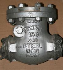 """2-1/2"""" Powell Butt-Weld Check Valve Class 150 1561AWE"""