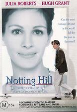 NOTTING HILL Hugh Grant / Julia Roberts DVD  R4 - PAL