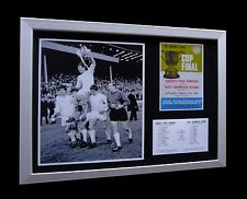 QPR+QUEENS PARK 1967 LEAGUE CUP FINAL LTD Nod FRAMED+EXPRESS GLOBAL SHIPPING