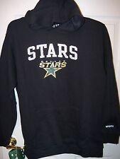 REEBOK Dallas Stars Hockey Black Hoodie Jacket Youth Boys Size 14   16 NWT   89 cdcb2416b
