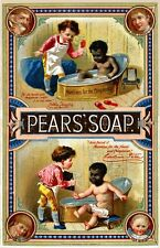 Pears Shaving Soap reproduction Advertising Poster A4 photo children