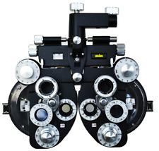 Ocular Vista Vision Probador Negro Óptico Manual Refractor Optometría VT-50