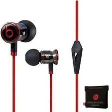 Original Monster iBeats Beats by Dr Dre In-Ear Casque écouteurs Noir NEUF