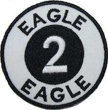 Space 1999 Alpha Moonbase Eagle 2 (Two) Embroidered Patch Sew/Iron-on 9cm Badge
