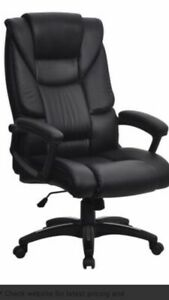 New Large Oversized High Back Padded Executive Chair Locking Tilt Action