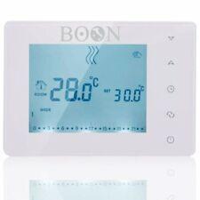Cronotermostato Digitale Settimanale LCD a batteria - BOON Bianco