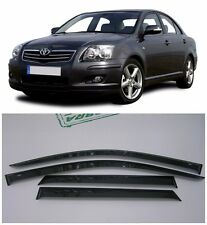 For Toyota Avensis Sd 2003-2008 Side Window Visors Rain Guard Vent Deflectors