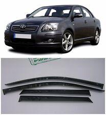 For Toyota Avensis Sd 2003-2008 Side Window Visors Rain Guard Vent Deflectors