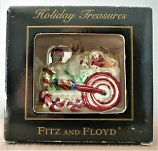 """Fitz And Floyd """" Holiday Treasures ~ Locomotive - 2003 """": """" New In Box - Rare """""""