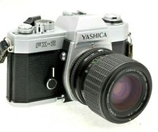 Yashica FX-2 35mm Film Camera with Sigma 35-70mm Zoom Lens