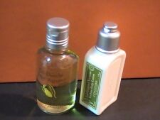 L'Occitane - Citrus Verbena Shower Gel & Verbena Body Lotion - 2 New Travel