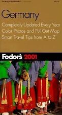 Travel Guide: Germany 2001 by Fodor's (2000, Paperback, Revised)