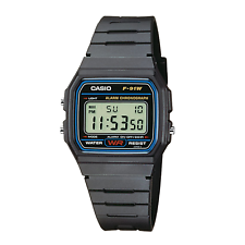 Casio F-91W-1YEF Mens Resin Digital Watch