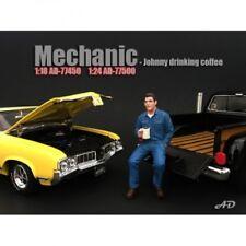 American Diorama 77500 meccanico-Johnny beve caffè 1/1000 1:24