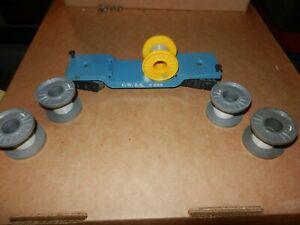 MARX #4566, CWEX Flat w/Cable Reels, 5 Reels, 8 Wheel, Original