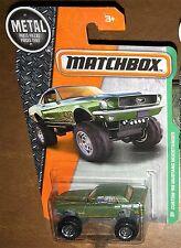 Matchbox Custom '68 Mustang Mudstanger Card #94