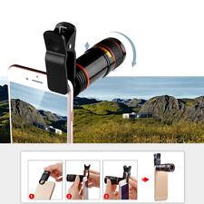 Zoom Ottico 12X Teleobiettivo Per Smartphone Lente Per Telescopio Portatile New