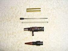New listing Ten 30 Caliber Mini Bolt Action Gun Metal Bullet Pen Kits $8.00 each