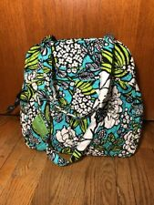 Vera Bradley Sweet Pleat Tote Island Blooms Handbag Bowler NWT!!