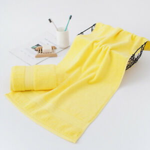 2pcs/lot Bath towel face towel hand towel foot towel pure cotton thicken towels