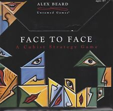 FACE TO FACE:A CUBIST STRATEGY GAME:ALEX BEARD:NEW