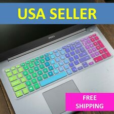 Rainbow Keyboard Protector Skin Cover Dell Inspiron 15