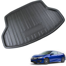 1x Car Rear Boot Cargo Liner Floor Trunk Mat Fit for Honda Civic Sedan 2016 2017