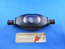 Schnur-Zwischenschalter Schwarz IP65, 2-polig, 3 A, 250 V~, Paßt für LED, SMD